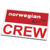 Norwegian CREW Tag